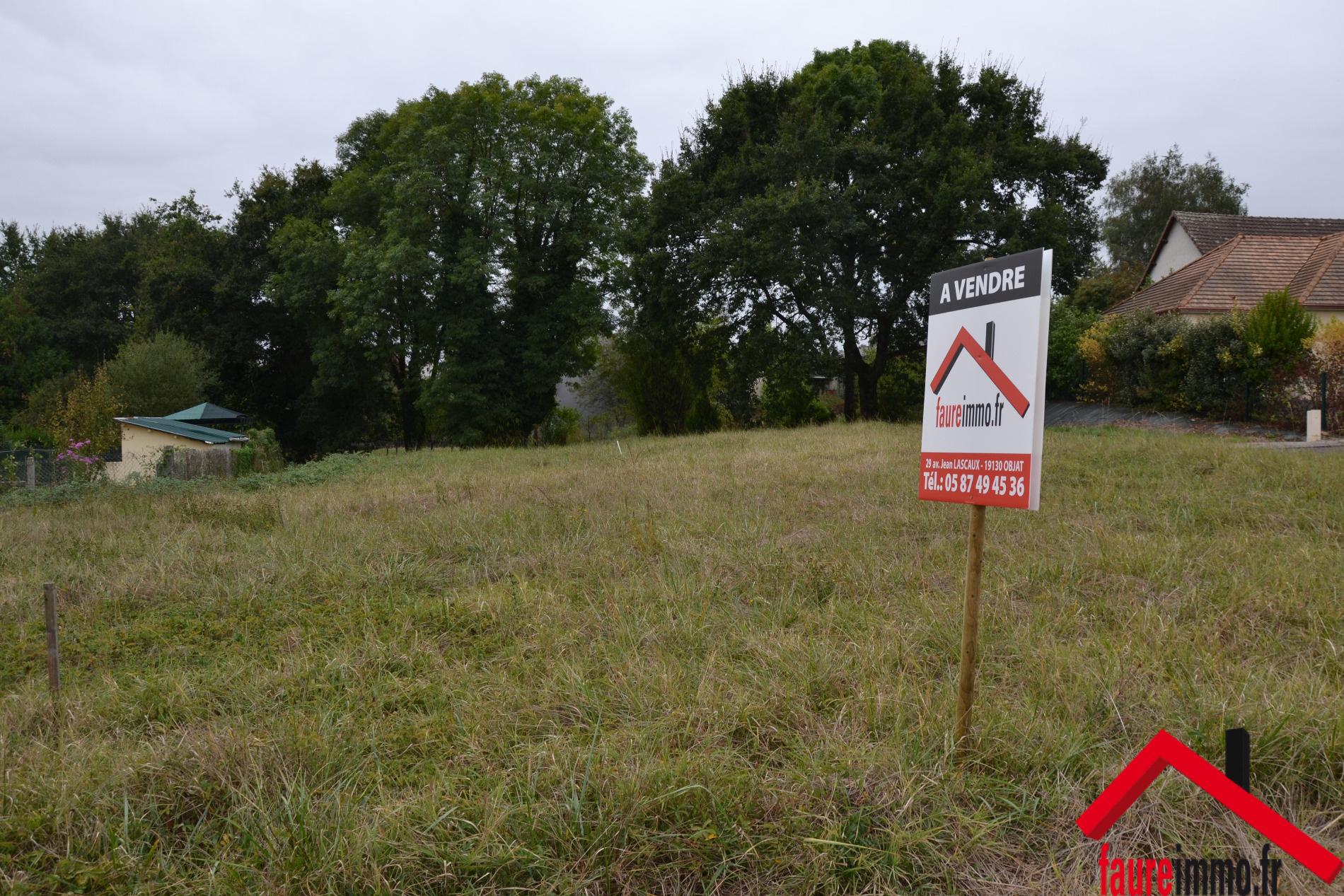 Vente terrain objat avec l 39 agence faure immo for Acheter un terrain financement